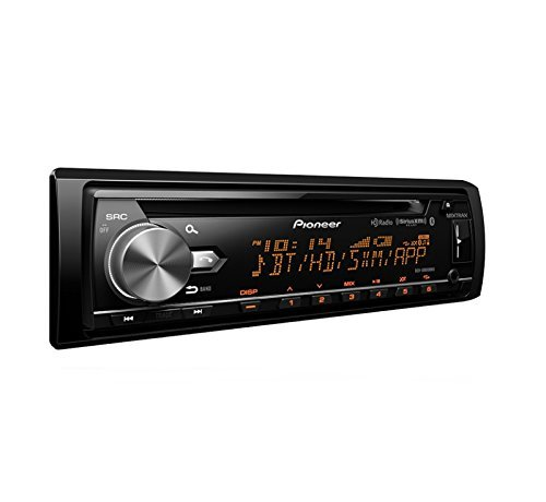 Pioneer DEH-X8800BHS CD Receiver with MIXTRAX, Bluetooth, HD Radio and SiriusXM Ready by PIONEER