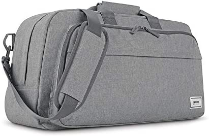 Solo New York Recycle Gym and Travel Duffel, Grey, One Size