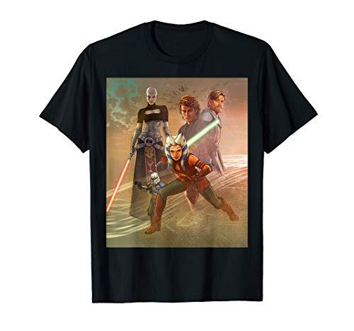 - Star Wars Celebration Mural The Clone Wars T-Shirt
