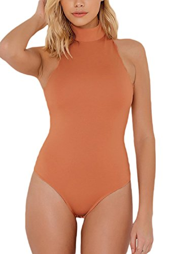 ツーリストリフレッシュ見捨てられたYACUN 女性ノースリーブの端綱ジャンプスーツ?ワンピース水着ビーチ