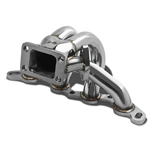 Toyota 4A-GE Stainless Steel T3 Turbo Manifold with 35mm/38mm Wastegate (Toyota 4age Engine compare prices)