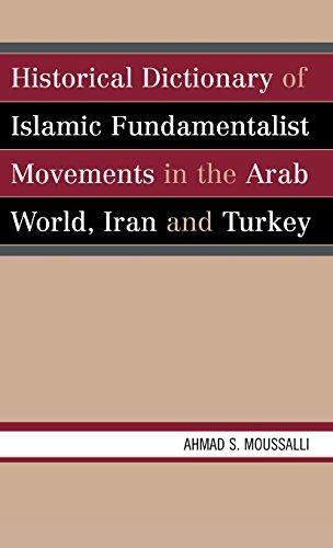 Historical Dictionary of Islamic Fundamentalist Movements in the Arab World, Iran, and Turkey