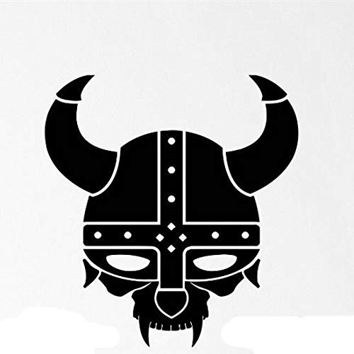 Viking Helmet Transfer tattoos tattooing temporary tattoos Cute Face stickers Warrior Axe Weapons Shield.jpg