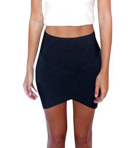 Hanche Moulante de Mode Femmes Bal Sexy Jupes Mini Club t Noir Fte Irrgulier Soire Package Pretty Jupe de qRtPxPwOC
