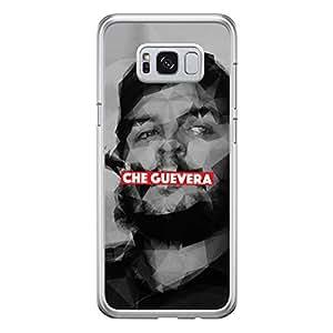 Samsung S8 Plus Transparent Edge Case Che Guevera -Multicolor