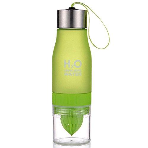 Aolvo Water Bottle Infuser with Lemon Juicer Filter Outdoor