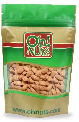 Raw Almonds, Great as a Healthy Snack 2 Pound Bag - Oh! Nuts