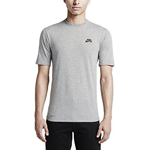 Nike Men's Dri-Fit SB Skyline Cool Skateboarding T-Shirt-...