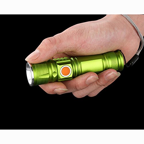Light Bike Accessories à Phares Équipement vélo Strong Eclairage MIAO USB Mountain Waterproof avant Zoom Riding Flashlight d'équitation Rechargeable Night qatZnz