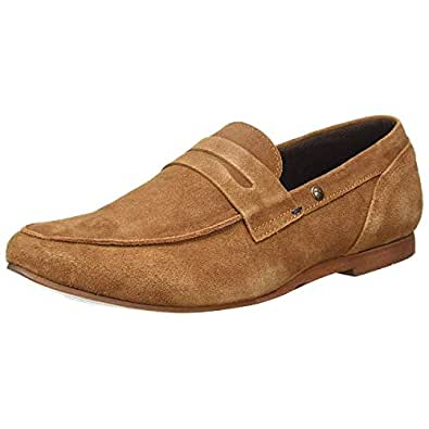 Numero Uno TMSELD5 Loafers For Men (Tan)