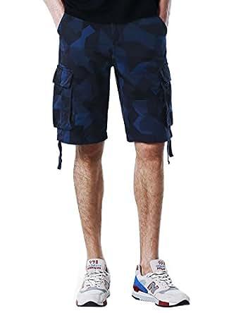Match Men's Retro Casual Summer Cargo Shorts (40, 3680 Checks)