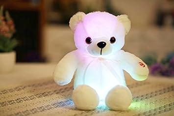 Amazon.com: GOONEE Oso de peluche – colorido oso brillante ...