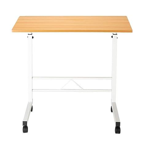 Cool Amazon Com Okngr Mobile Computer Desk Wheels Laptop Table Ibusinesslaw Wood Chair Design Ideas Ibusinesslaworg