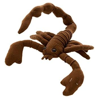 """Amazon.com: 12"""" Plush Toy Scorpion with bendable tail"""