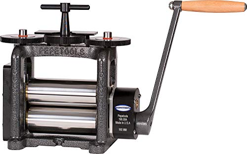 PepeTools Flat Rolling Mill 160 mm Wide Rollers, Ultra Series Made in USA