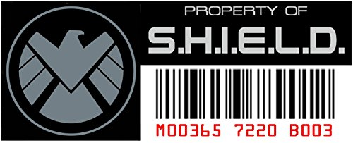Asset Tag - Property of Shield