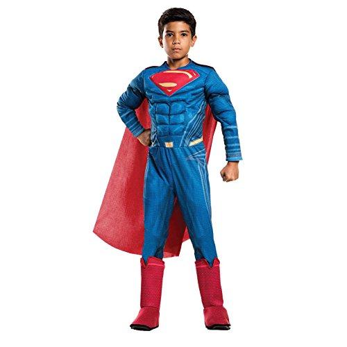 Rubie's Costume Boys Justice League Deluxe Superman Costume, Small, Multicolor - Premium Mens Costume