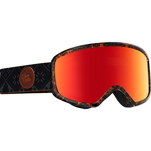 Anon Women's Deringer MFI Goggles, Shelly Frame, Red Solex Lens, One - Womens Goggles Anon