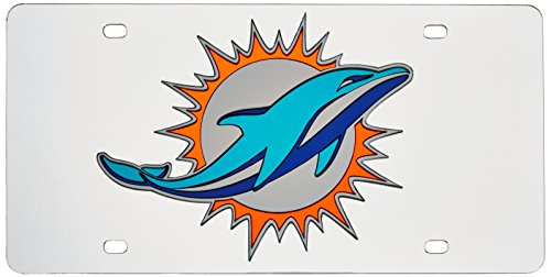 - Rico Industries Miami Dolphins Laser Tag (Silver)