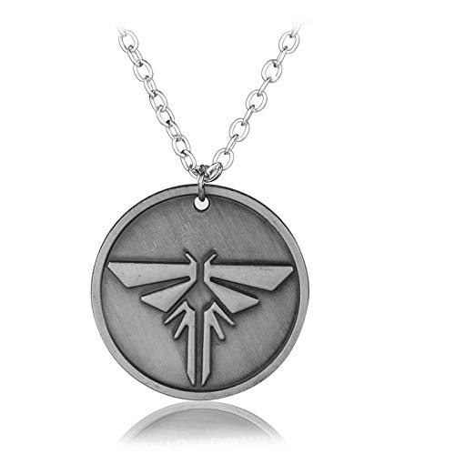 FITIONS - Video Game PS4 The Last of Us Firefly Dog Tag Necklace & Pendant The Last Of US Necklace Jewelry Accessories for Fans-10]()