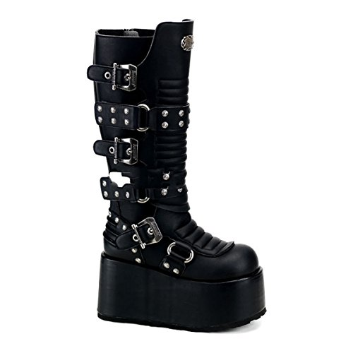 Demonia Ripsaw-520 - Gothic Industrial Plateau Stiefel Schuhe 36-45