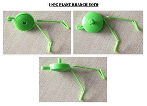 Bay Hydro Plant Branch YOYO W/ Spring Stopper & 2 Hooks GREEN 100pc Review