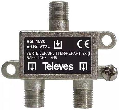 Televes 4530 - Repartidor interior scatv 2d