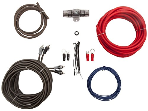Amplifier Wiring Kits 8 Gauge - 3
