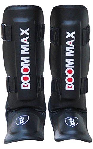 Boommax Mixed Martial Arts Boxing Kick Boxing MMA Shin Insteps Guards Shin Guards