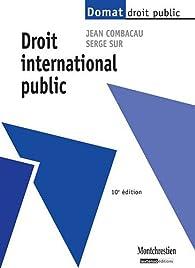 Droit international public par Jean Combacau