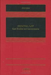 Criminal law case studies robinson 4th
