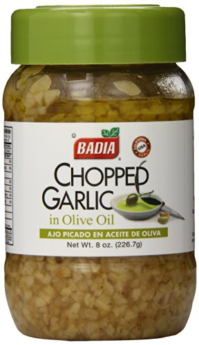 Badia Chopped Garlic in Olive Oil, 8 Ounce (Pack of 12)