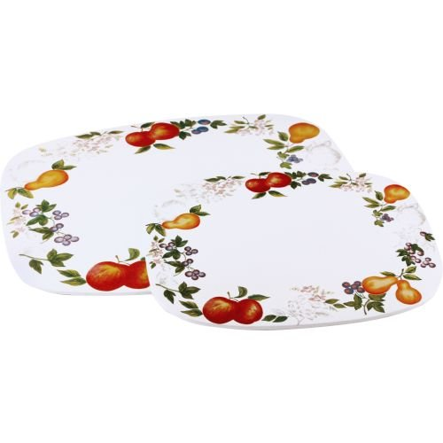 Corelle Coordinates Counter Mats, Set of 2, (Corelle Burner Covers)