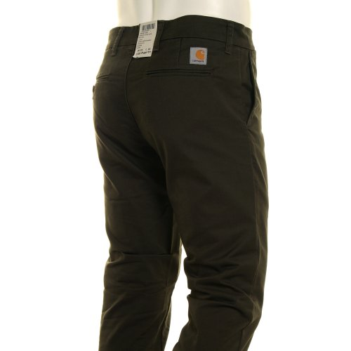 Pantalon Rinsed Large Homme Cypress Vert Carhartt d7Fxnd