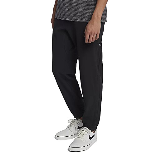 Hurley Men's Alpha Plus Jogger Pant, Black (010), XX-Large ()
