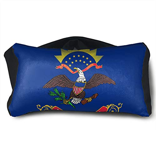 ChunLei Flag of North Dakota Voyage Pillow 2 in 1 Travel for sale  Delivered anywhere in Canada