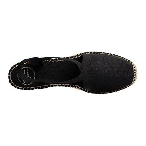 Negro De Correa Tobillo Pons Mujer Con Zapatos Tony wq0xIfn