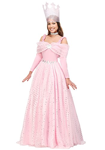 Plus Size Deluxe Pink Witch Dress Costume 1X]()
