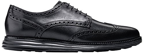 Cole Haan Men's Original Grand Wtip Oxford, Black/Black, 7 M - Sunglass Price Tags