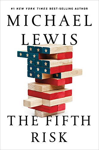 Book cover from The Fifth Risk by Michael Lewis