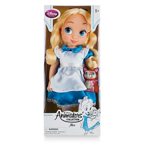 Disney officiel Alice In Wonderland 41cm Animator Toddler (Wonderland Alice In Doll)