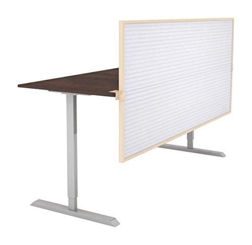 Obex 18X72P-L-W-SS 18'' Polycarbonate Split Screen Privacy Panel, White, 18'' x 72''