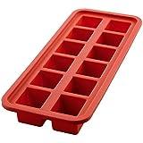 Forma de Gelo Quadrada, Mimo Style, SN14285, Vermelho