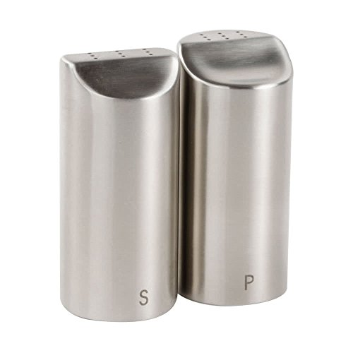 162 2 oz. Marina Stainless Steel Salt and Pepper Shaker By TableTop King by TableTop King