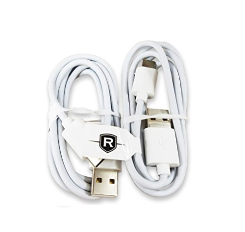 Price comparison product image Two Renegade 5 Foot Type C Charging Data Cables for Samsung Galaxy S8; S8+ Motorola Droid Z / Z Force / Z Play /LG G5 G6 / Google Pixel / Pixel XL / Nexus 6P / Nexus 5X - USB C