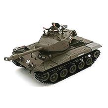 Heng Long 3839-1 2.4Ghz 1:16 US M41A3 Walker Bulldog Light Tank RC Battle Tank
