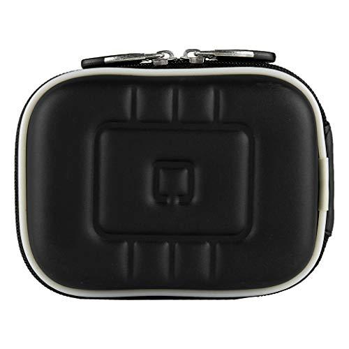 Hard Shell EVA Cover Camera Case Fit FUJIFILM FinePix XP130, XP120, GoPro Hero 7, YI Action Camera, Mokacam 4K, Moka 360, Alpha 4K Plus, APEMAN Trawo A100 Black