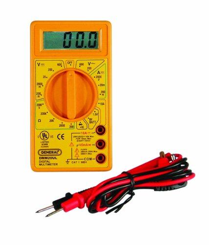 General Tools DMM20UL Digital Multimeter