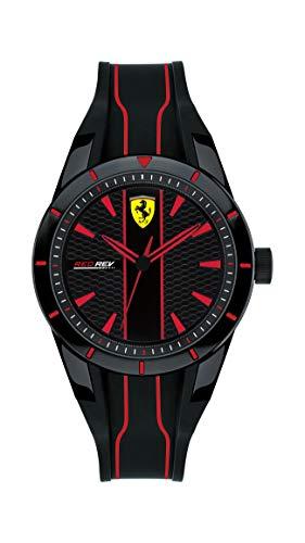 Scuderia Ferrari Reloj Analógico para Niños de Cuarzo con Correa en Silicona 830479
