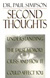 Second Thoughts, Paul Simpson, 0785274189